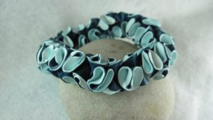 Cara Jane polymer bracelet