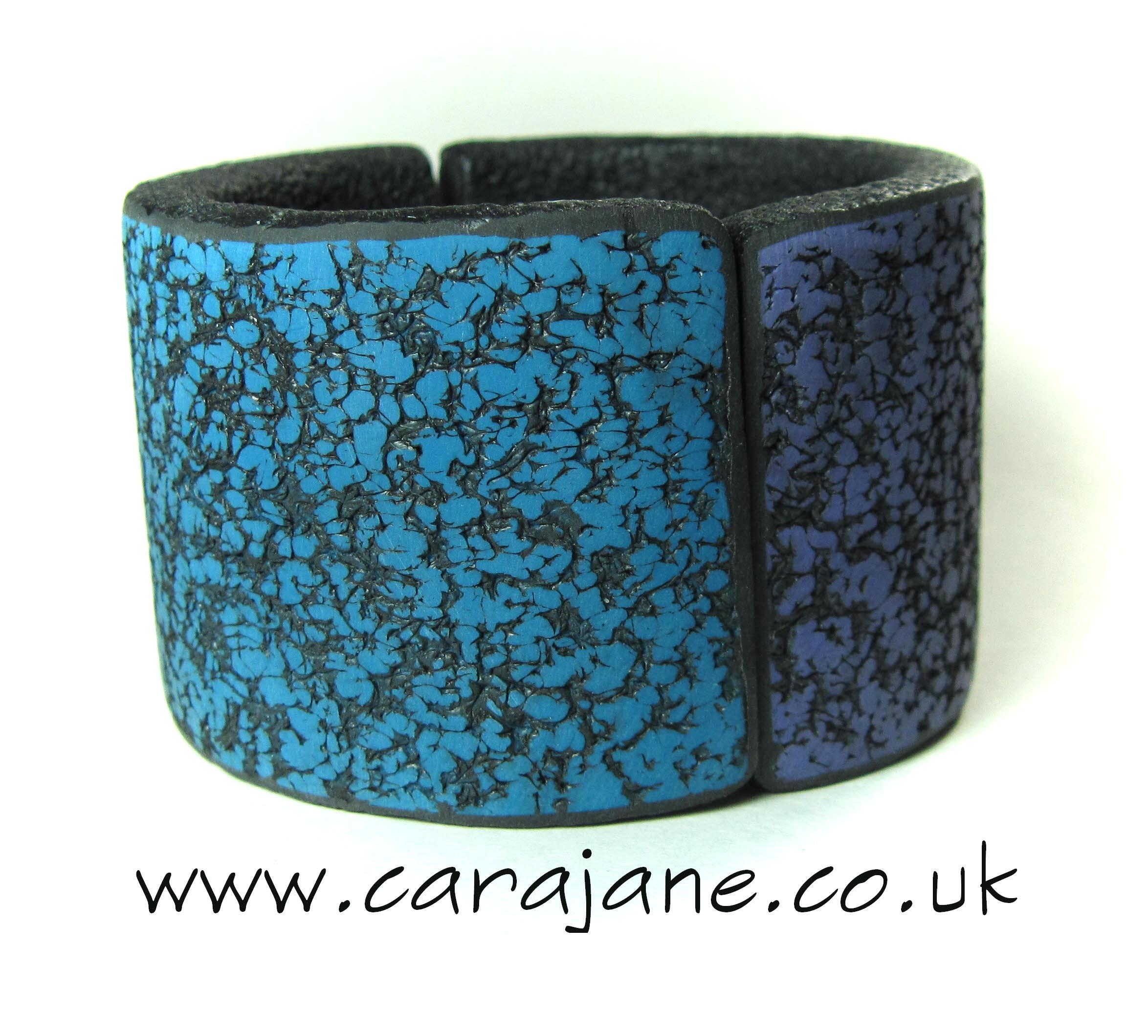 hinged polymer clay bangle
