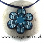 Grey, blue and teal jewellery