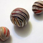 Tutorial to make stripy beads