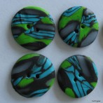 First polymer clay buttons