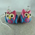 Tiny little owl earrings