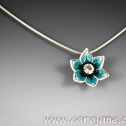 New Flower Pendant for Southbank Bristol Arts Trail