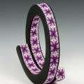 Cara Jane Coiled Kaleidoscope Caned Polymer Bangle