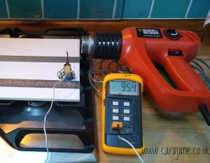Cara Jane Heat Gun Characterisation for Polymer Clay Liquid Clay Curing
