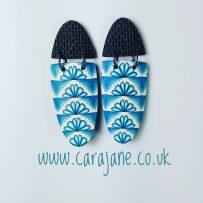 'Versa-tile' cane earrings